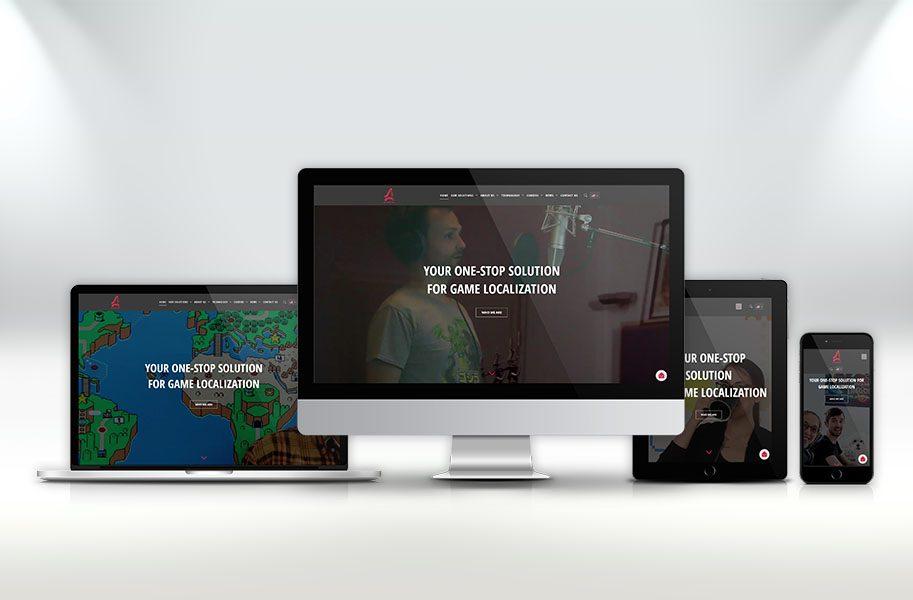 Webdesign für Altagram