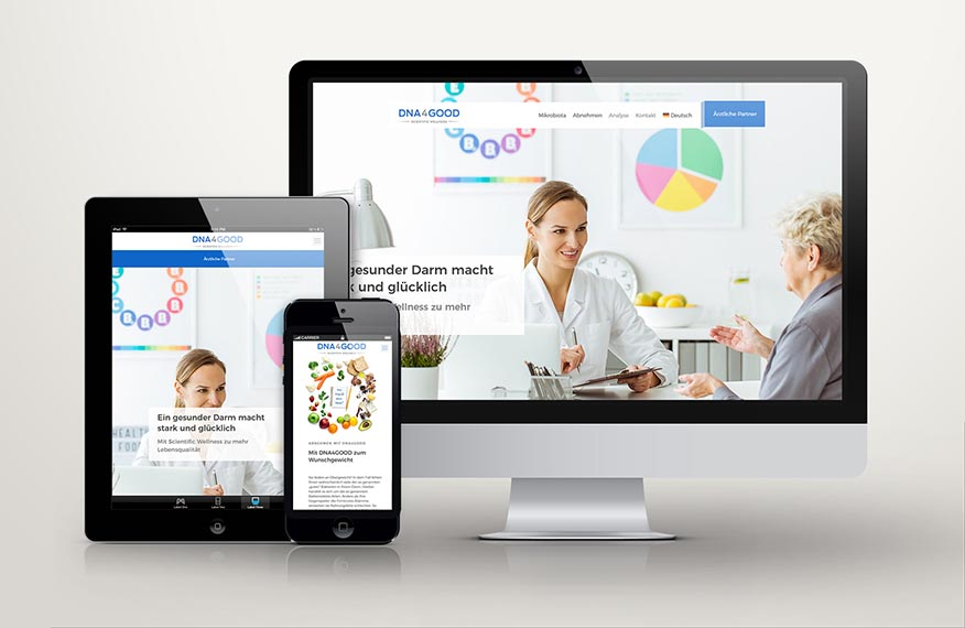 Website DNA4GOOD