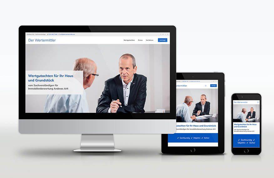 Der Wertermittler Website