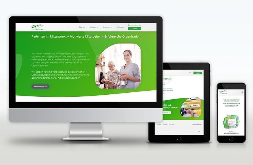 Hofer Healthcare website